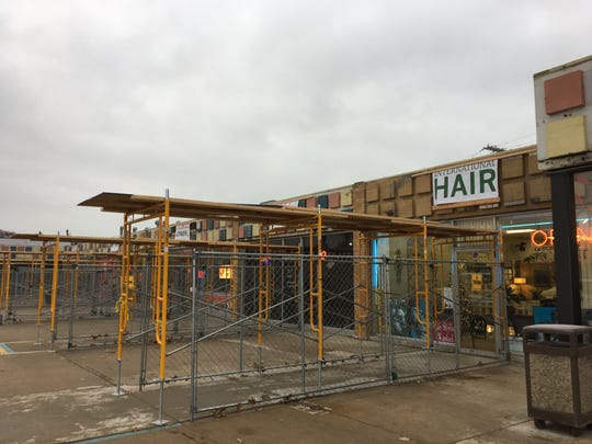 Business were set to remain open during construction at the Port Huron Town Center on Pine Grove Avenue in November and December 2018.