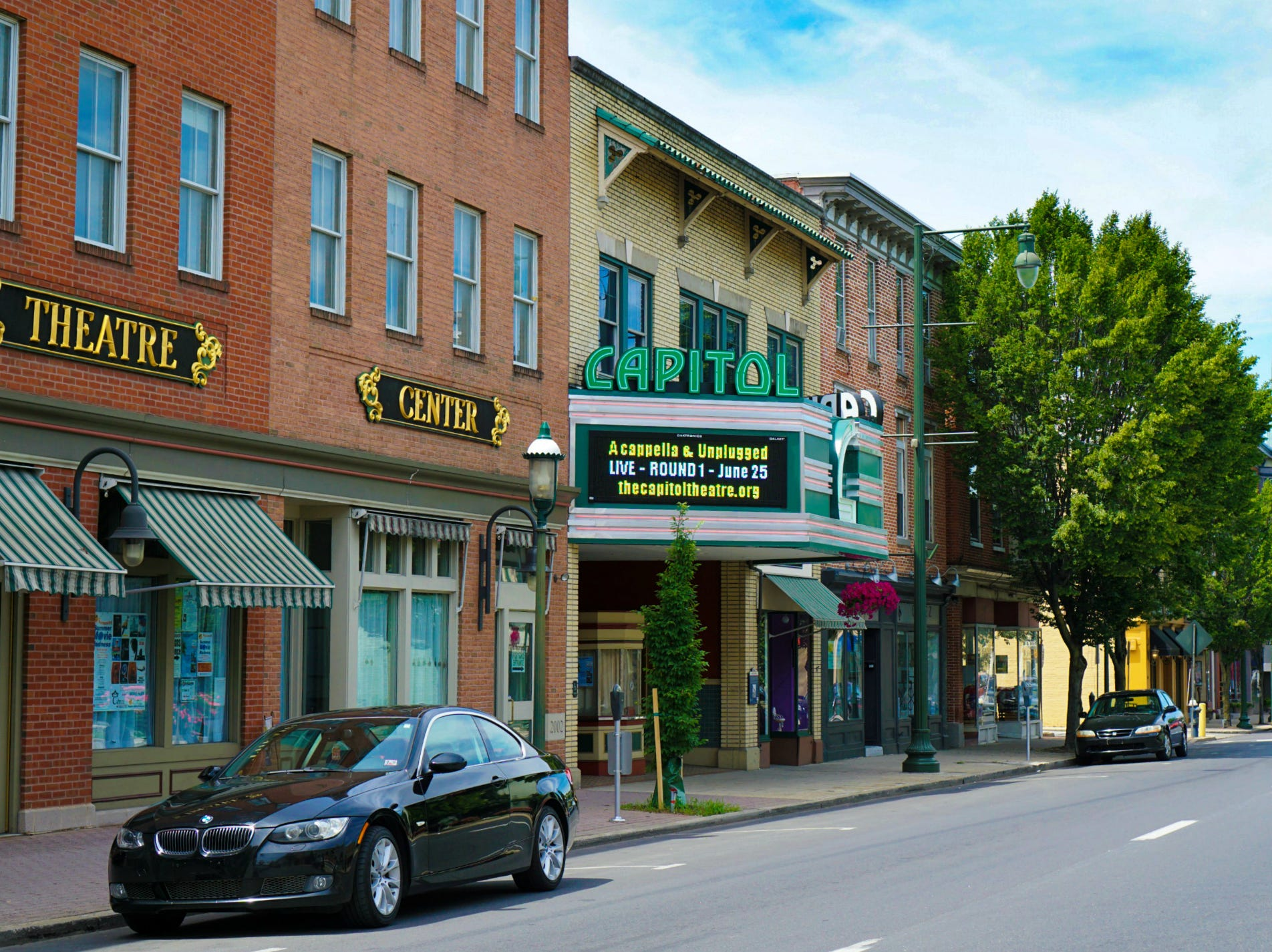 The Capitol Theatre has been a landmark of downtown Chambersburg since 1927.