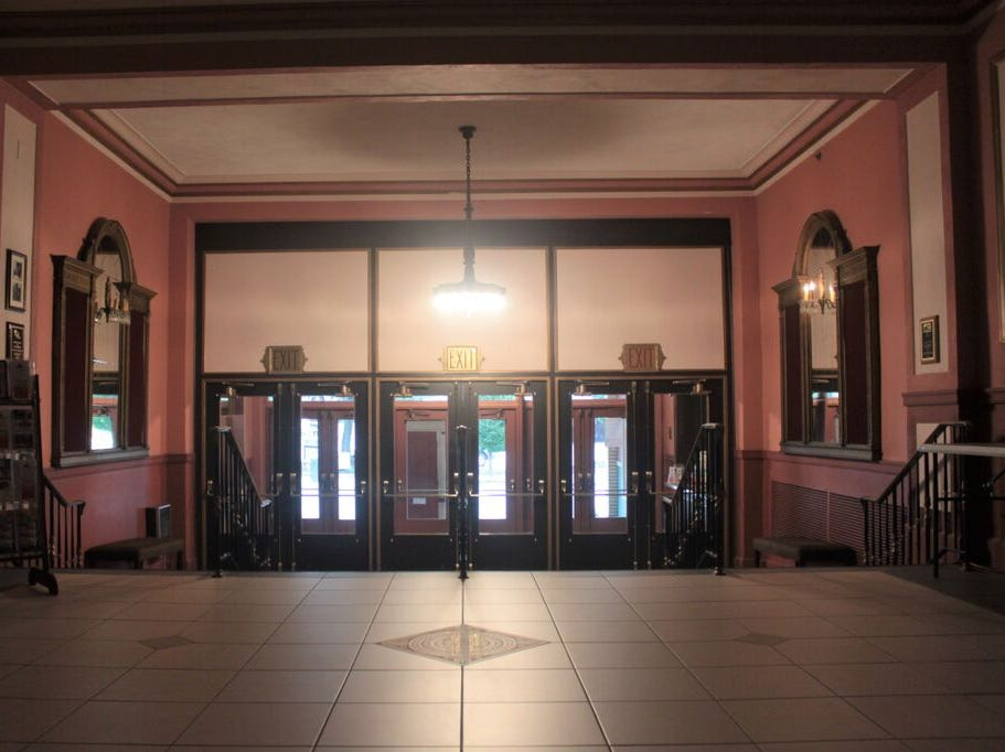 """The Capitol Theatre has been a landmark in downtown Chambersburg since 1927. The theater aims to raise $150,000 through its """"Capitol Forever"""" campaign, to help expand community programming."""