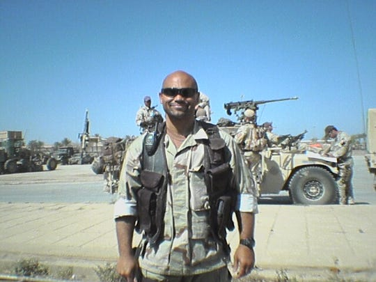 Smith spent time deployed in Baghdad, Iraq.
