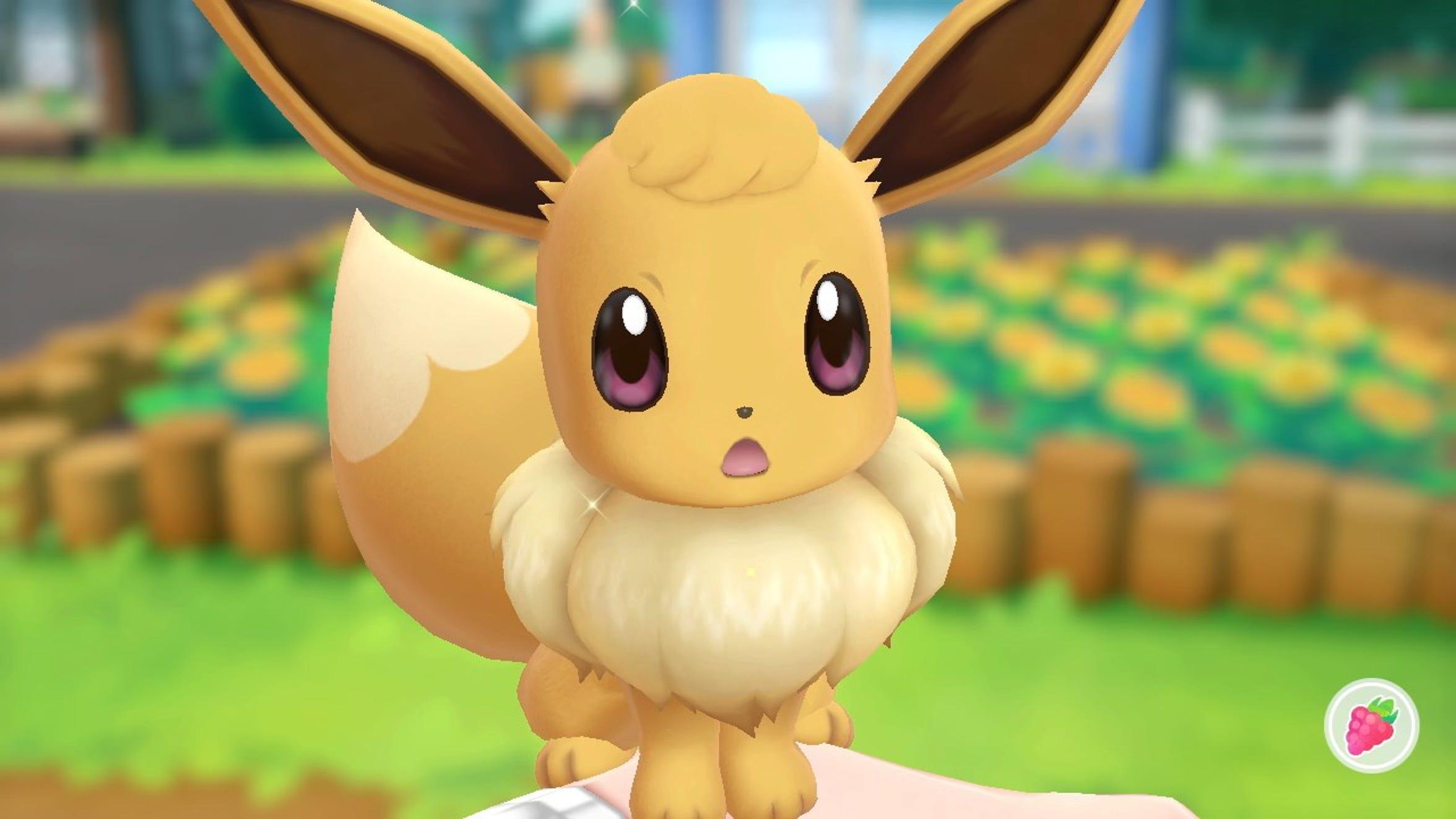 """Pokemon: Let's Go! Pikachu"" and ""Pokemon: Let's Go! Eveee"" for Nintendo Switch."