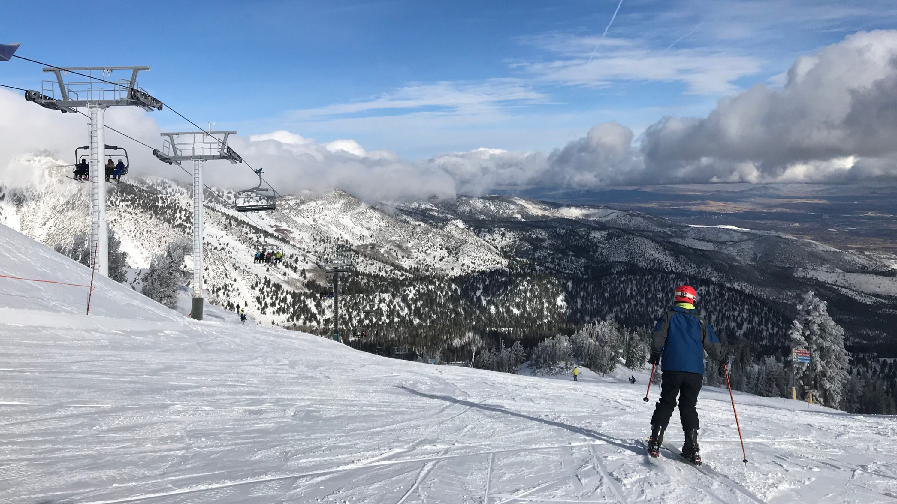 winter storm to drop more snow over reno tahoe this weekend