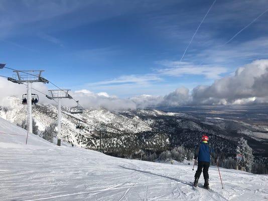Snow On Mt Rose