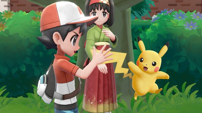 """Pokemon: Let's Go! Pikachu"" and ""Pokemon: Let's Go! Eveee"" for Nintendo Switch."