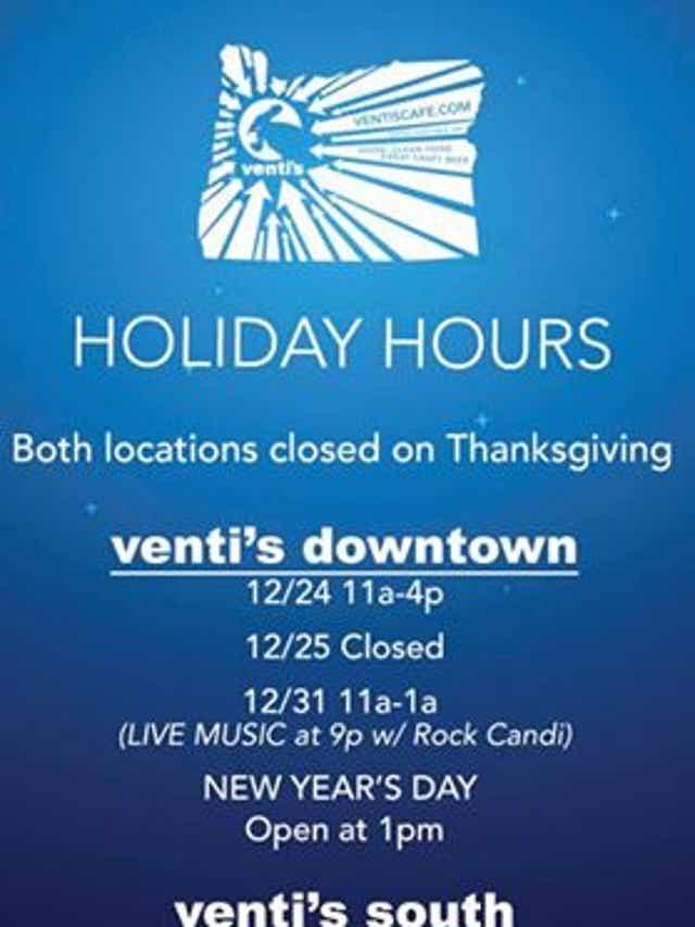 Restaurants Open Christmas Day Salem Oregon 2021 Salem Area Restaurants Open On Christmas Eve And Christmas 2018