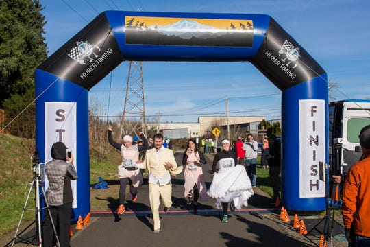 Be a spectator or sign up day of at a new fun run in Salem benefiting survivors of human trafficking in the Willamette Valley where runners will wear formal attire.