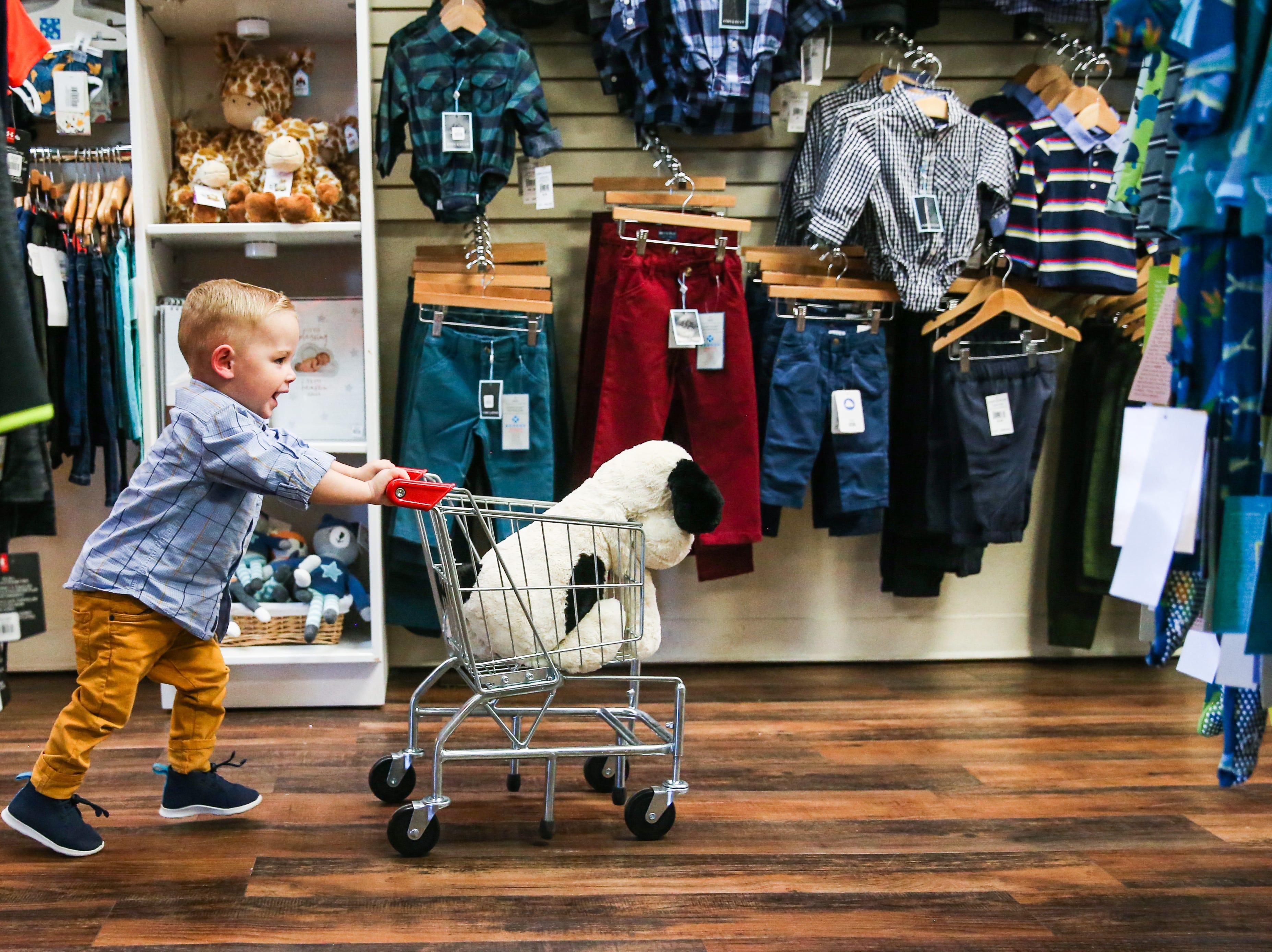 Fancy Pants Children's Boutique is happy place for families