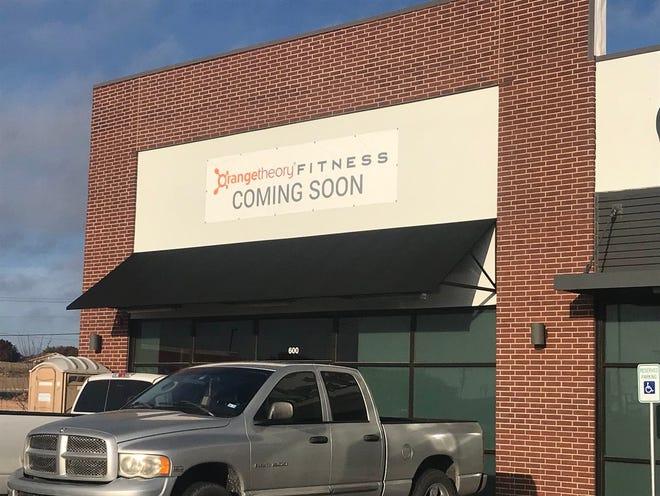 New Orangetheory Fitness center, 5582 Sherwood Way, coming to San Angelo. Photo taken Friday, Nov. 30, 2018.