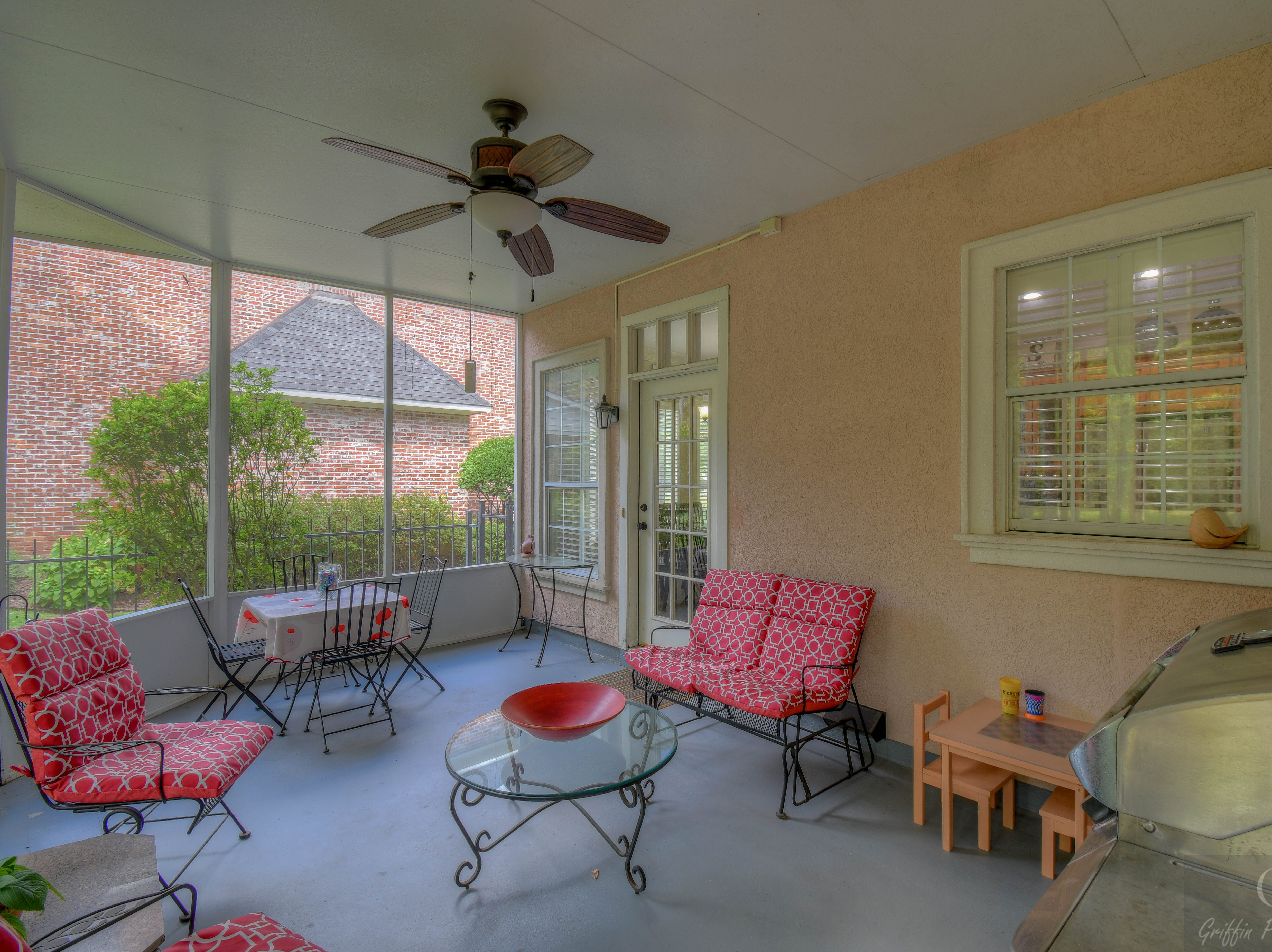 47 Victorias Drive,   Bossier City  Price: $364,900  Details: 4 bedrooms, 3 bathrooms, 2,800 square feet  Special features: Elegant Victorian Pointe home in gated community with designer touches, screened back porch to enjoy secluded woods year round.  Contact: Chris Hayes,   773-4663