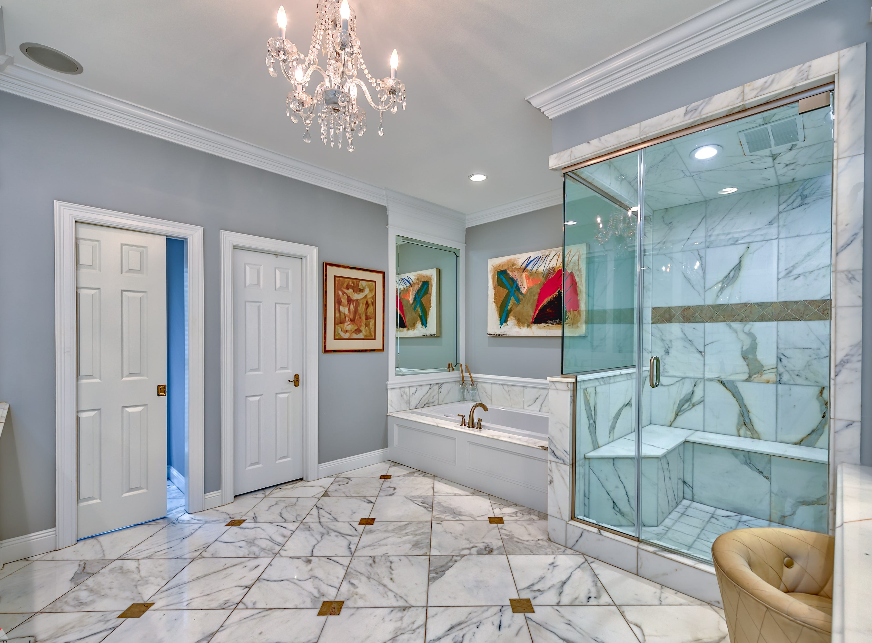 2718 Alvamar Drive, Shreveport  Price: $649,000  Details: 4 bedrooms, 5 bathrooms, 5,391 square feet  Special features: Elegant home on a large Long Lake lot perfect for entertaining, entry boasts marble flooring,  outdoor oasis with inground pool.  Contact: Lisa Hargrove, 393-1003