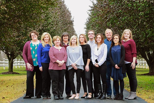 Pictured is support, clinical and residential staff for Synergy Executive.