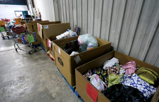 Donations for Share Your Christmas have begun to make their way to the warehouse at Crosslines at 615 N. Glenstone Ave. for distribution in December.