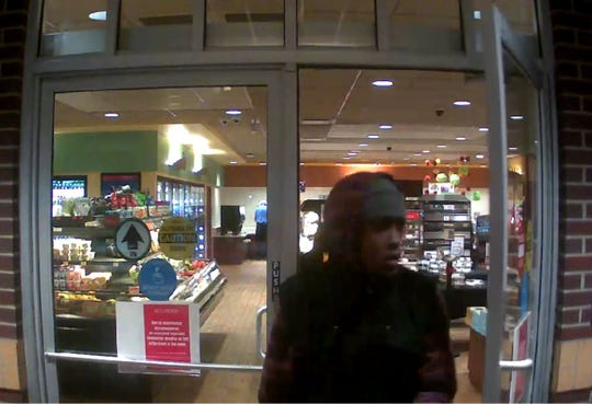 St. Cloud police released still photos of the suspect which were obtained from Kwik Trip surveillance video in the Nov. 29 incident.