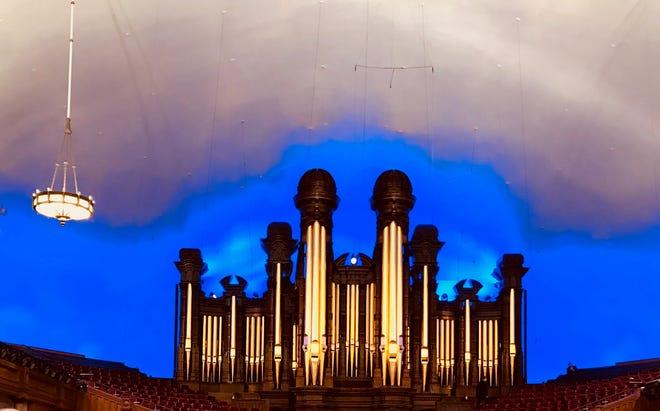 The Salt Lake Tabernacle.