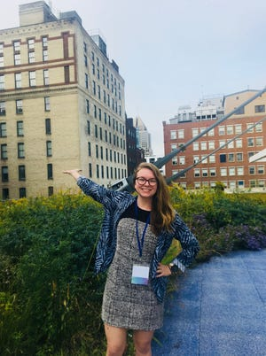 Rooftop garden at the Annual Association for the Advancement of Sustainability  in Higher Education  Conference 2018