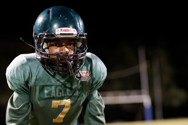 The Chaires Eagles Pop Warner football faces the Spoken Valley G-Men at ESPN's Wilde World of Sports Complex on Dec. 3 in Orlando for the Pop Warner Super Bowl.