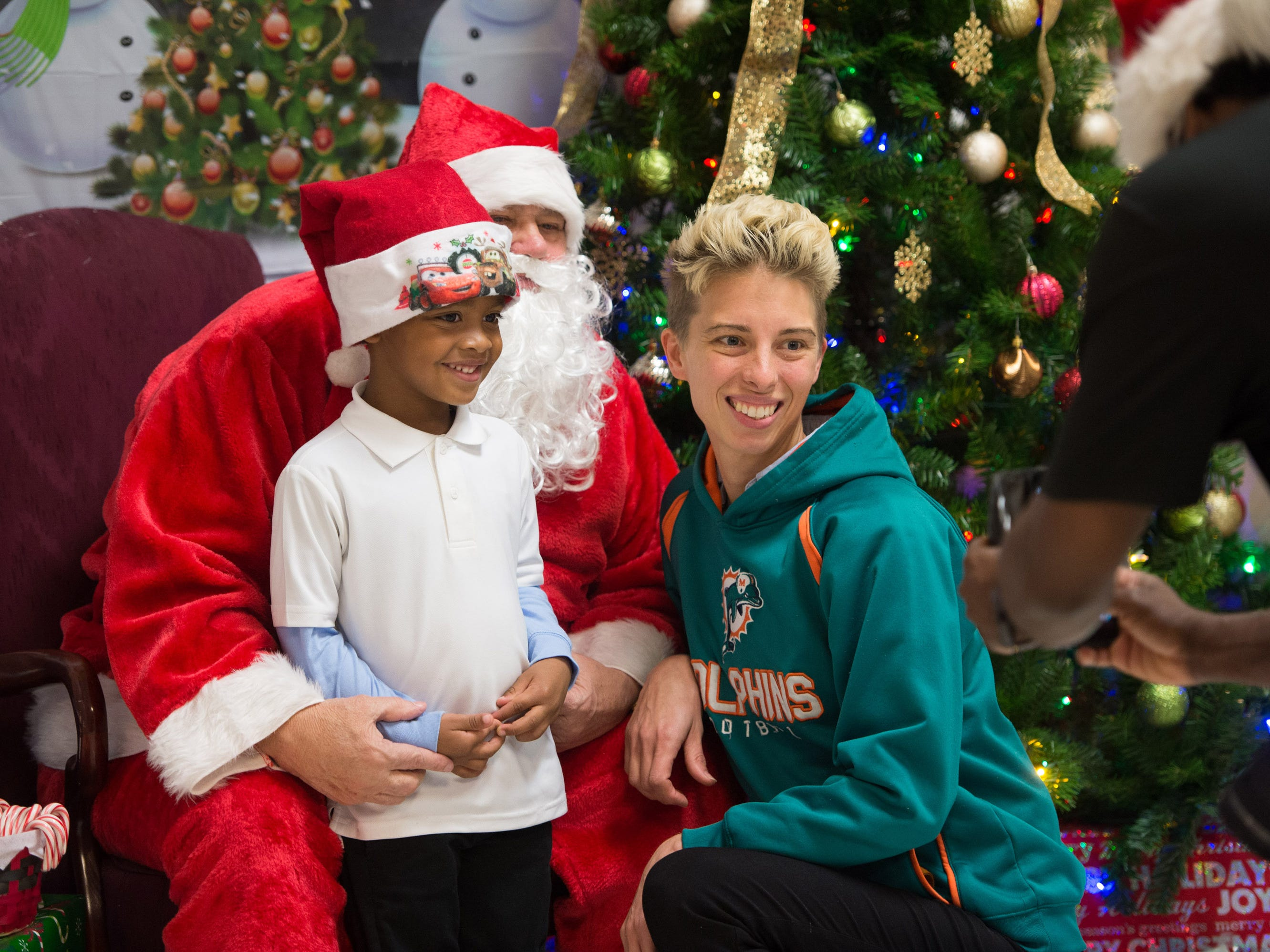 The Firehouse Youth Centre's Breakfast with Santa fundraiser event was held at the Firehouse Youth Centre on Friday, November 30, 2018 in Port St. Lucie.