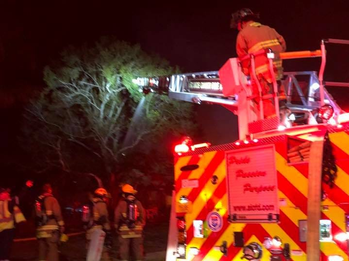 St. Lucie County firefighters responded to a house fire in the 2800 block of Avenue B at 2:08 a.m. Nov. 30, 2018.