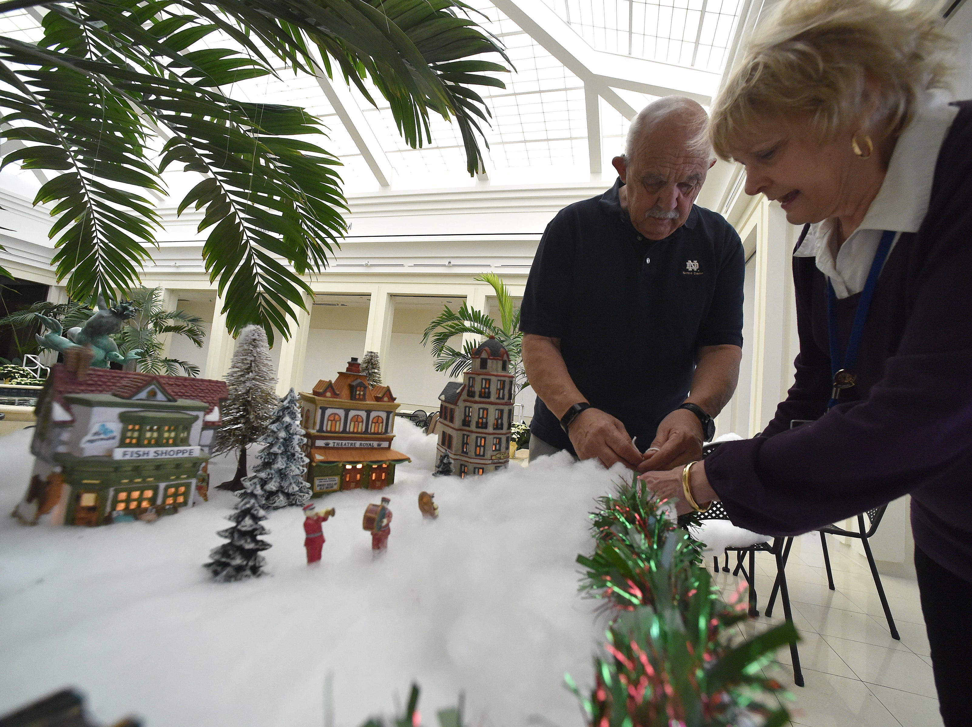 The Vero Beach Museum of Art prepares for their annual Holidays at the Museum event on Sunday, Dec. 2nd, 2018, from 1 p.m. to 4 p.m. at 3001 Riverside Park Drive in Vero Beach.  Admission to the museum is free for the annual event.
