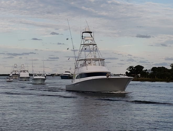 Intents, led by Capt. Rhett Bailey of Jensen Beach, caught and released four sailfish Friday to lead the 20-boat fleet fishing the Pirates Cove Sailfish Classic. A total of 30 fish were caught. Sea Hag also has four and stands second based on time of last release.