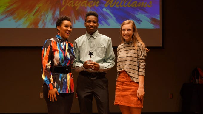 Entrepreneur of the Year was awarded to Jayden Williams during the 2018 Outstanding Youth Awards.