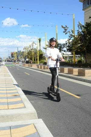 Electric scooters, banned in a number ofcities, including Ventura, are coming to the streets of Thousand Oaks.