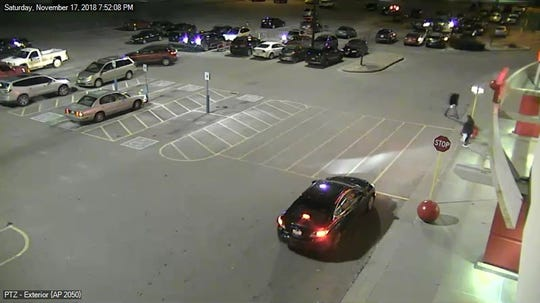 Police are seeking a man who is thought to have left Target in Weston in a black car Nov. 17.