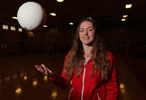 North Rockland's Jessica Ouderkirk, selected as the Rockland Scholar-Athlete of the Week, was photographed at North Rockland High School on Friday, November 30, 2018.