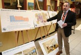 Dr. James Kaishian, superintendent of the Briarcliff Manor School District,  talks about  the district's proposed $34 million bond while at the high school Nov. 30, 2018.