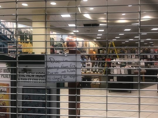 Barnes & Noble forced to close Thursday night following roof fire at City Center in White Plains