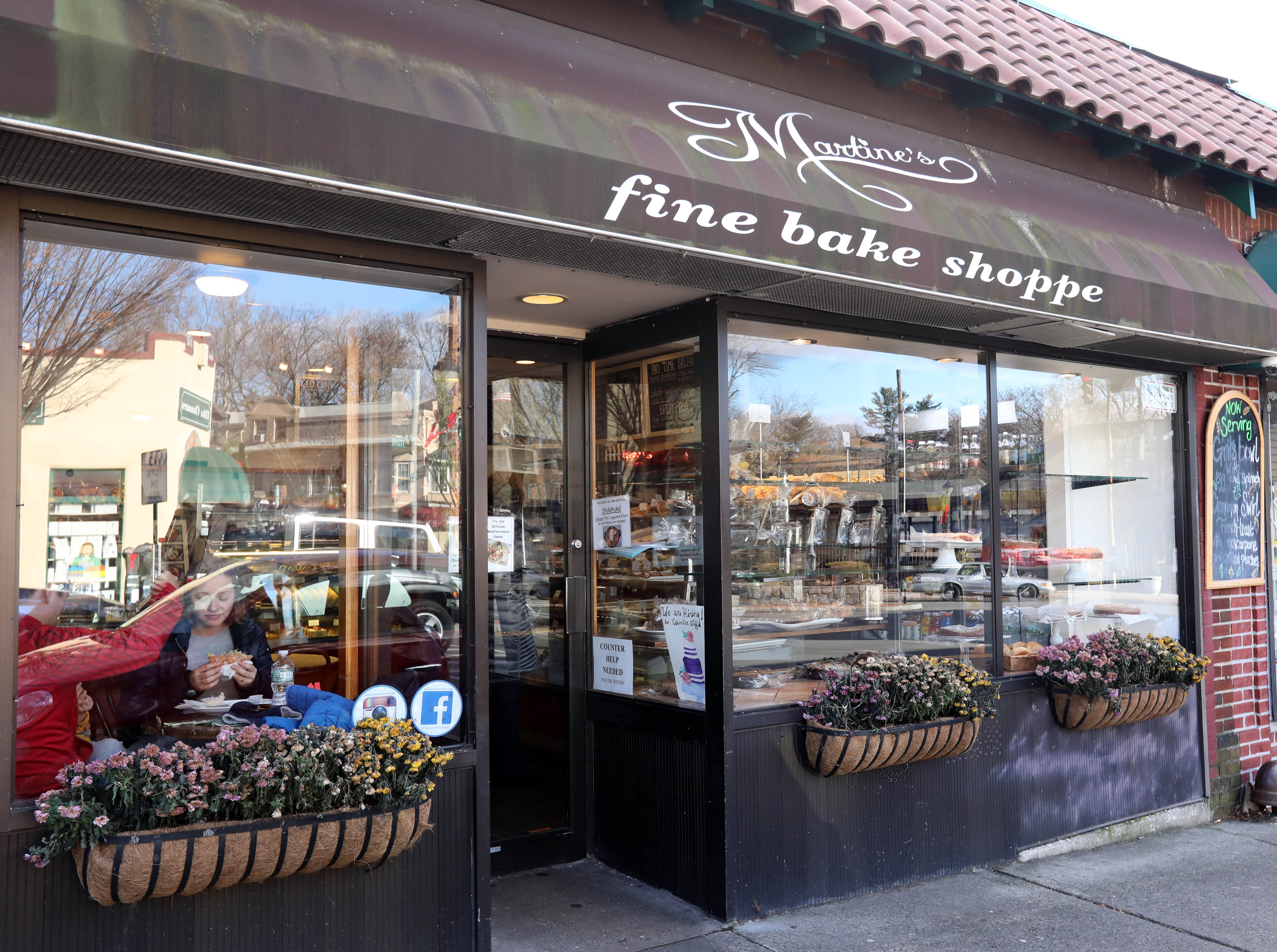 Martine's Fine Bake Shoppe in Tuckahoe Nov. 29, 2018. The family bakery, which has a second location in Scarsdale, is celebrating their 10th anniversary in business.