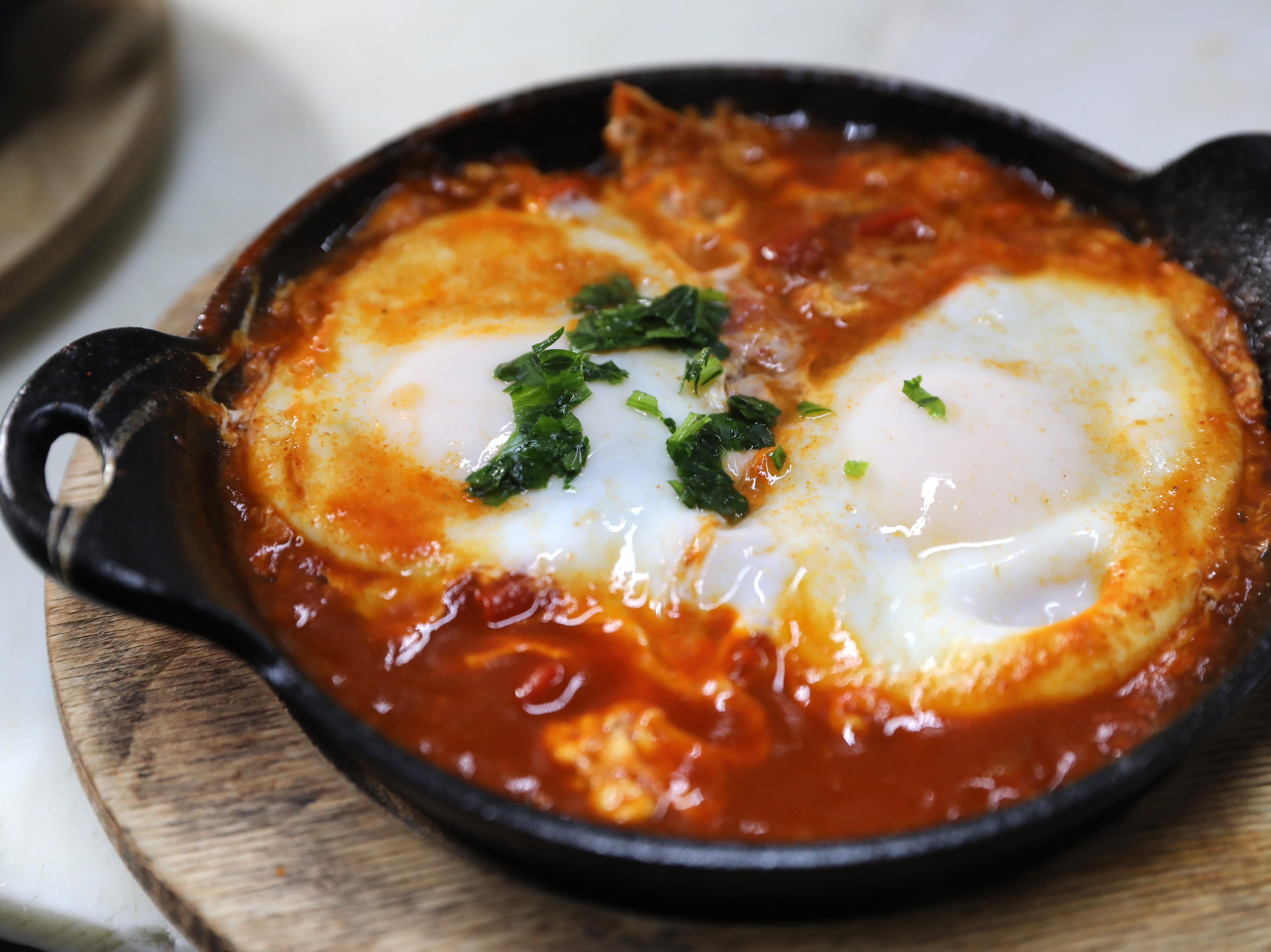 Shakshuka at Martine's Fine Bake Shoppe in Tuckahoe Nov. 29, 2018. The family bakery, which has a second location in Scarsdale, is celebrating their 10th anniversary in business.