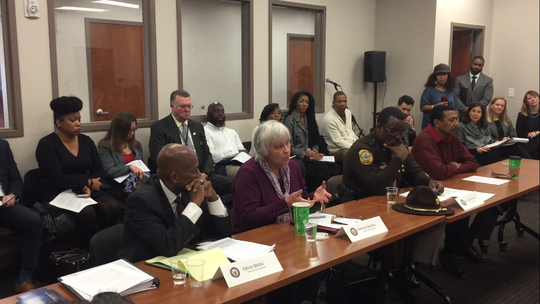 Police officers, public defenders and representatives from social justice organizations joined their voices Friday to back the First Step Act, a Congressional prison reform bill that has bipartisan and presidential support, but whose passage through the U.S. Senate is not assured.