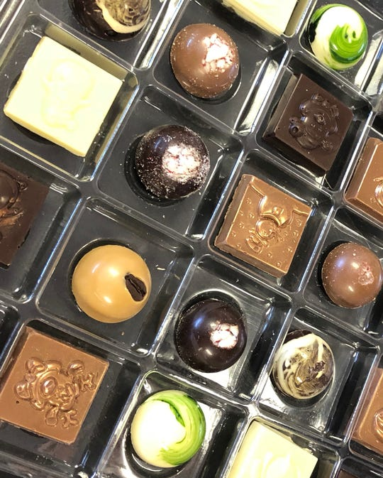 Up to three days of work goes into making each handcrafted treat at B Cocoa Artisan Chocolates.