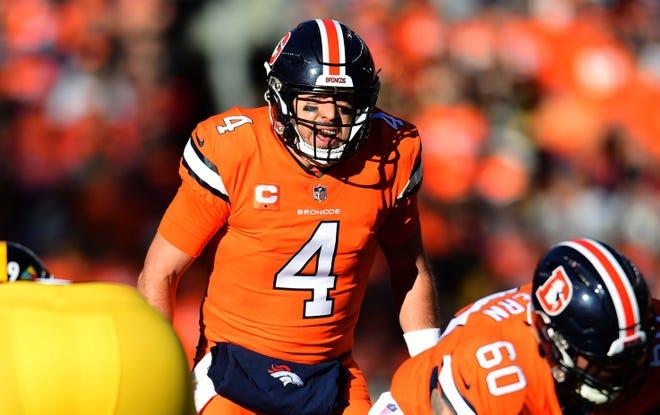 Broncos quarterback Case Keenum hasn't thrown an interception since Week 8.
