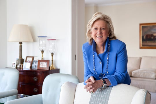NEW YORK, NY - MARCH 26, 2014: Portrait of author, Linda Fairstein in her home. CREDIT: Katherine Marks