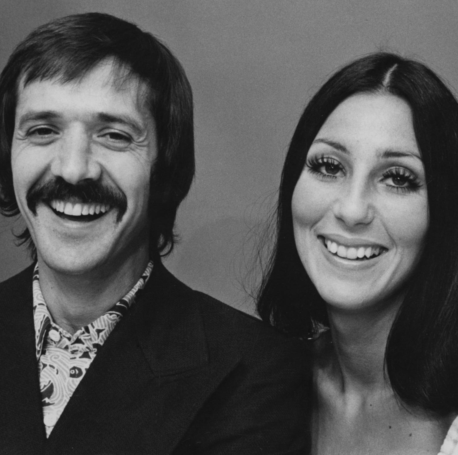 Sonny and Cher in a 1974 file photo. ORG XMIT: UT28228