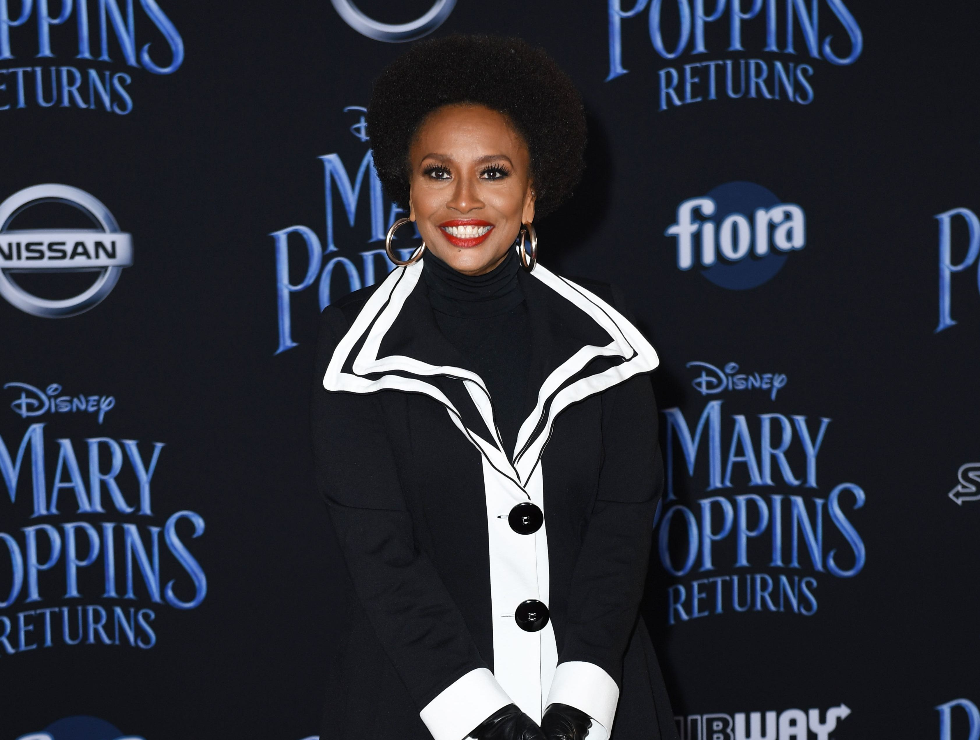 """US actress Jennifer Lewis arrives for the world premiere of Disney's """"Mary Poppins Returns"""" at the Dolby theatre in Hollywood on November 29, 2018. (Photo by VALERIE MACON / AFP)VALERIE MACON/AFP/Getty Images ORG XMIT: 'Mary Pop ORIG FILE ID: AFP_1B80TE"""