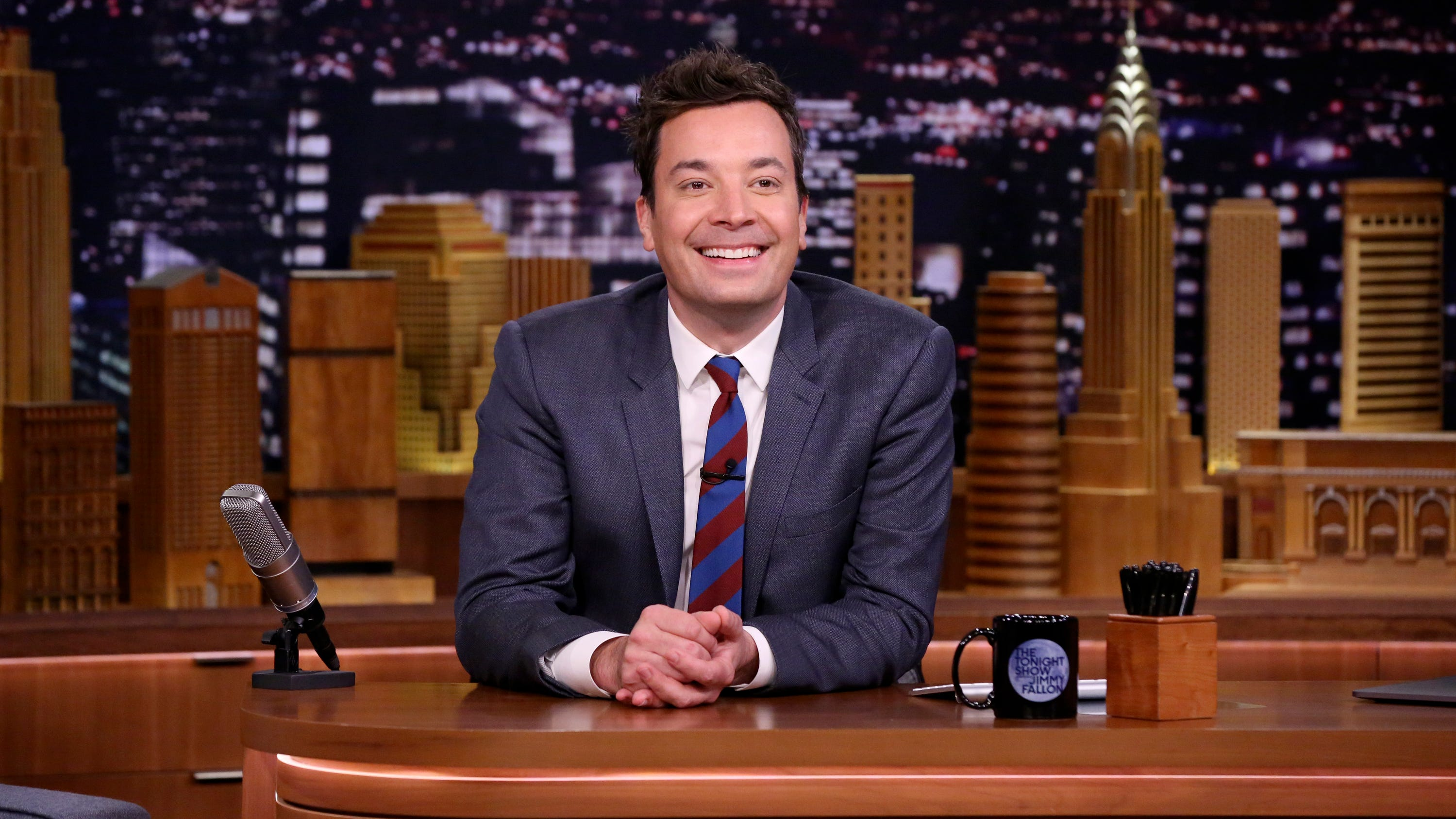 Fallon reveals Nike's new slogan in Best of Late Night