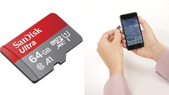 Sandisk Ultra 64 GB SD Card