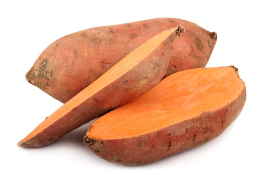 You can use sweet potatoes to make sweet potato fries in the oven, mashed sweet potatoes or even roasted sweet potatoes.
