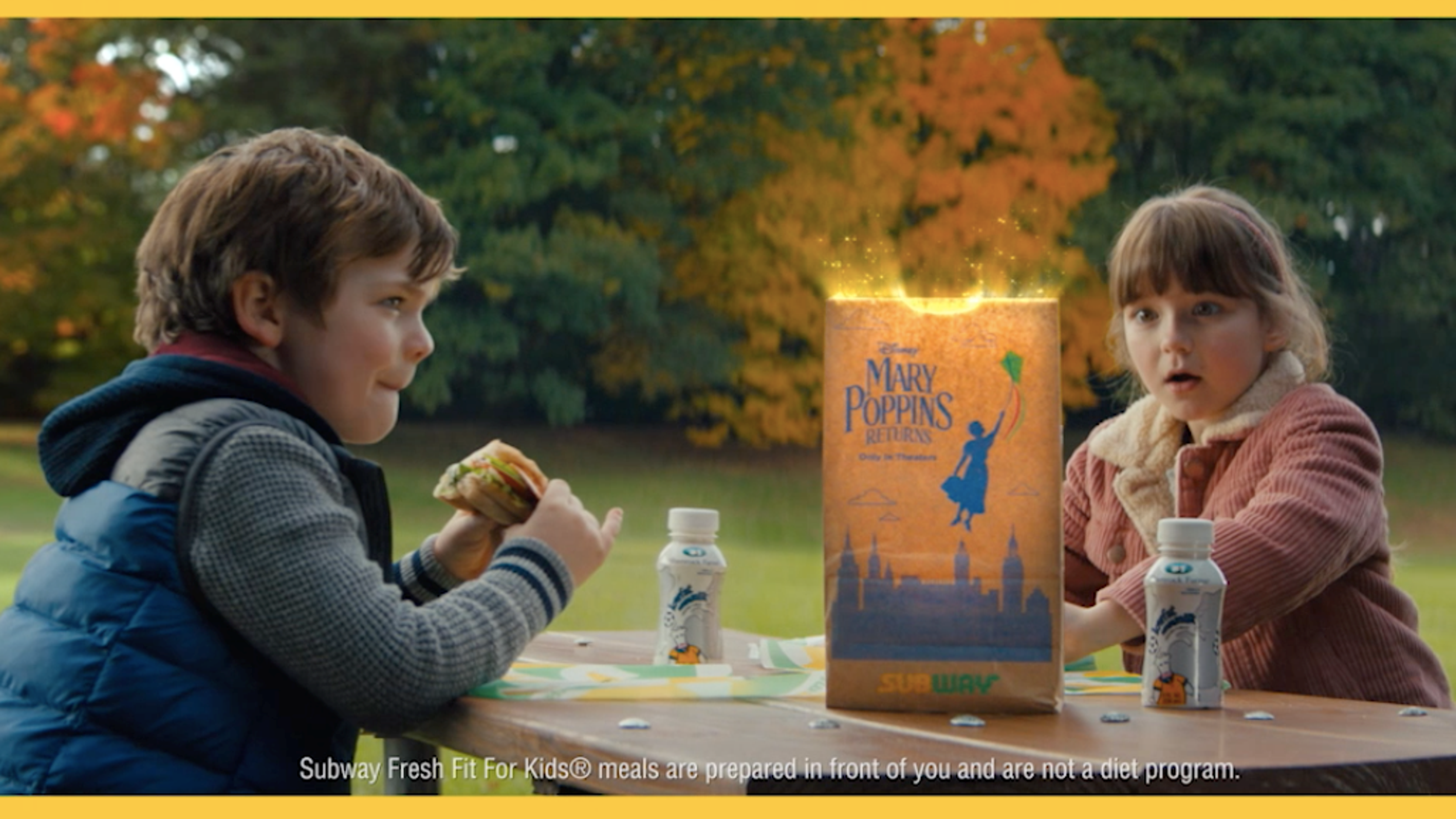 Subway Kids Meals Come With Free Mary Poppins Returns Tickets