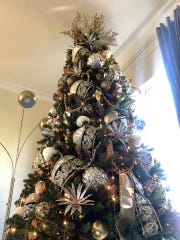 Christmas tree decorated by Soul Tree Decor owner Ashley Pizzichillo in New Jersey.