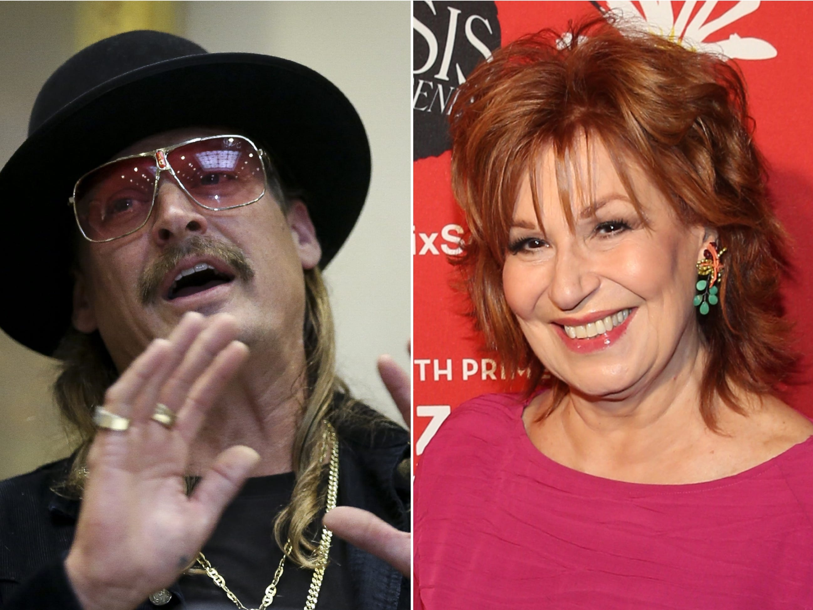 Kid Rock defends jab at Joy Behar: 'Mess with the bull, get the horns'