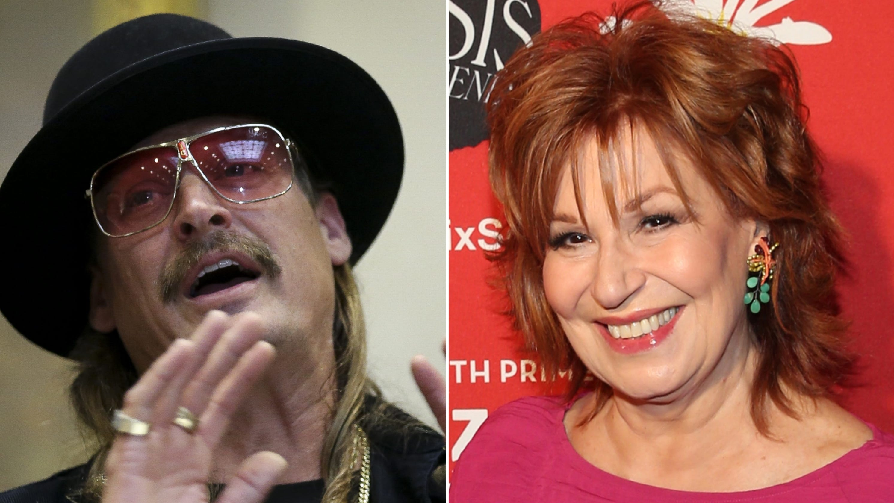 After Joy Behar insult, Kid Rock gets booted from Xmas parade