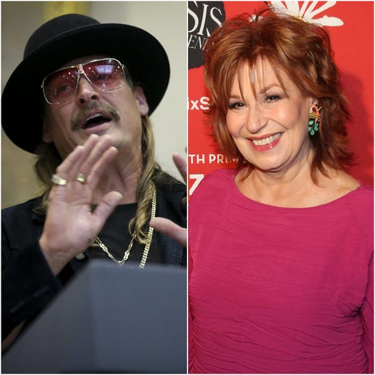 Could we see an Obama-style beer summit between outspoken conservative musician Kid Rock and liberal talk-show host Joy Behar?