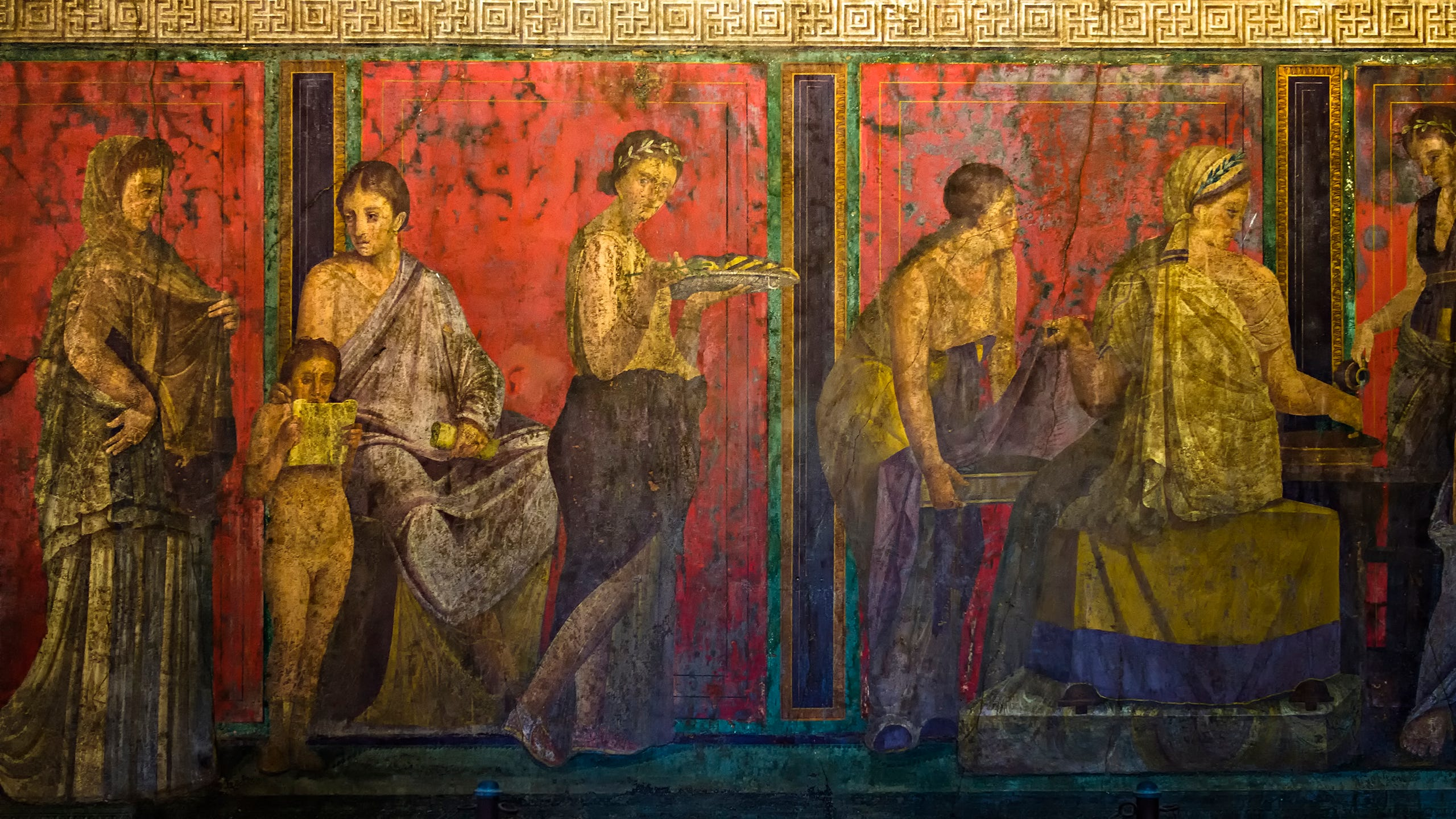 Frozen in time: The ruins of Pompeii