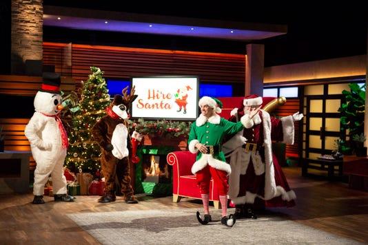 Mitch Allen Hire Santa