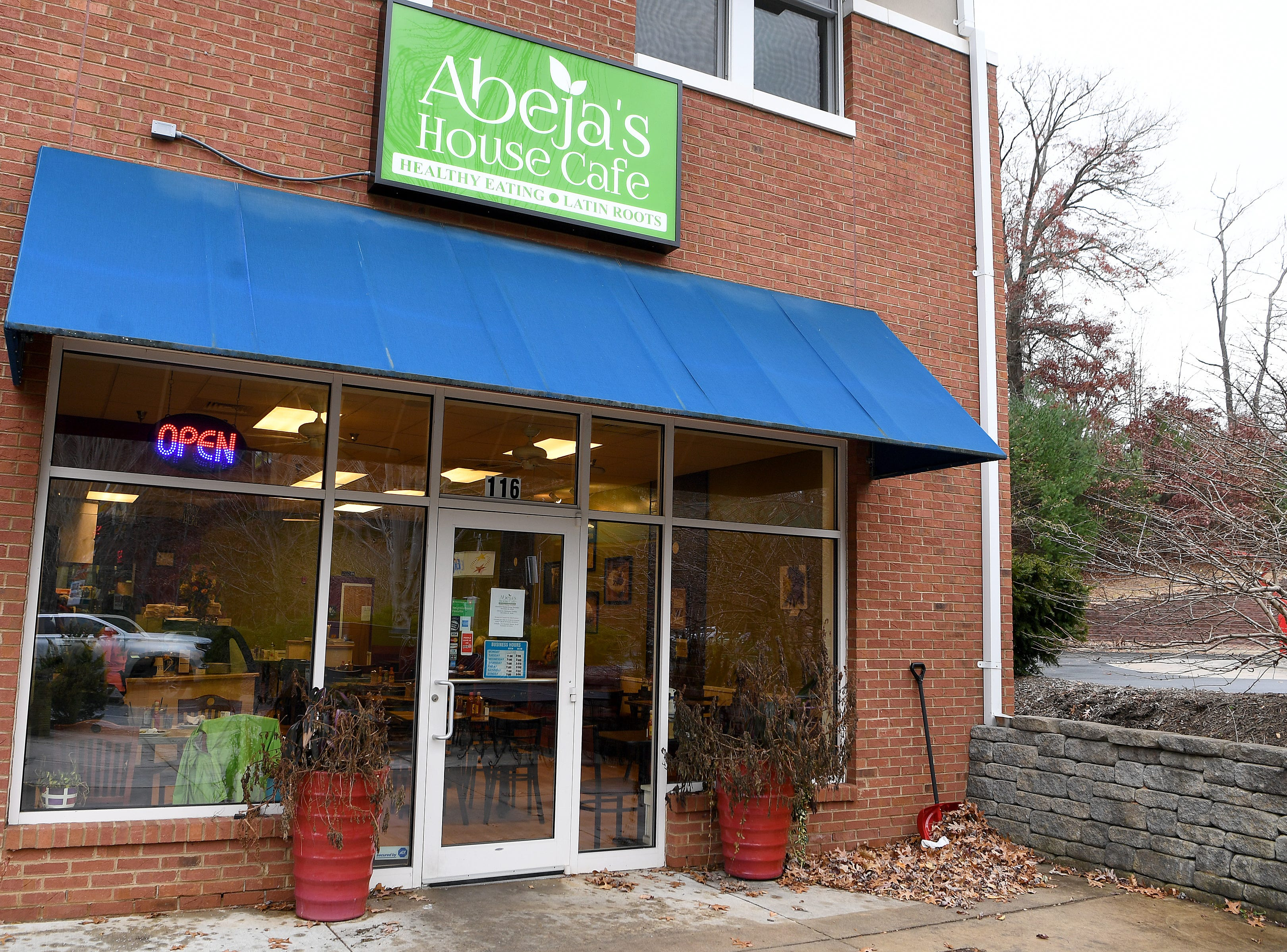 Abeja's House Cafe on Hendersonville Road is open Tuesday through Sunday for breakfast and lunch from 7a.m. to 3 p.m.