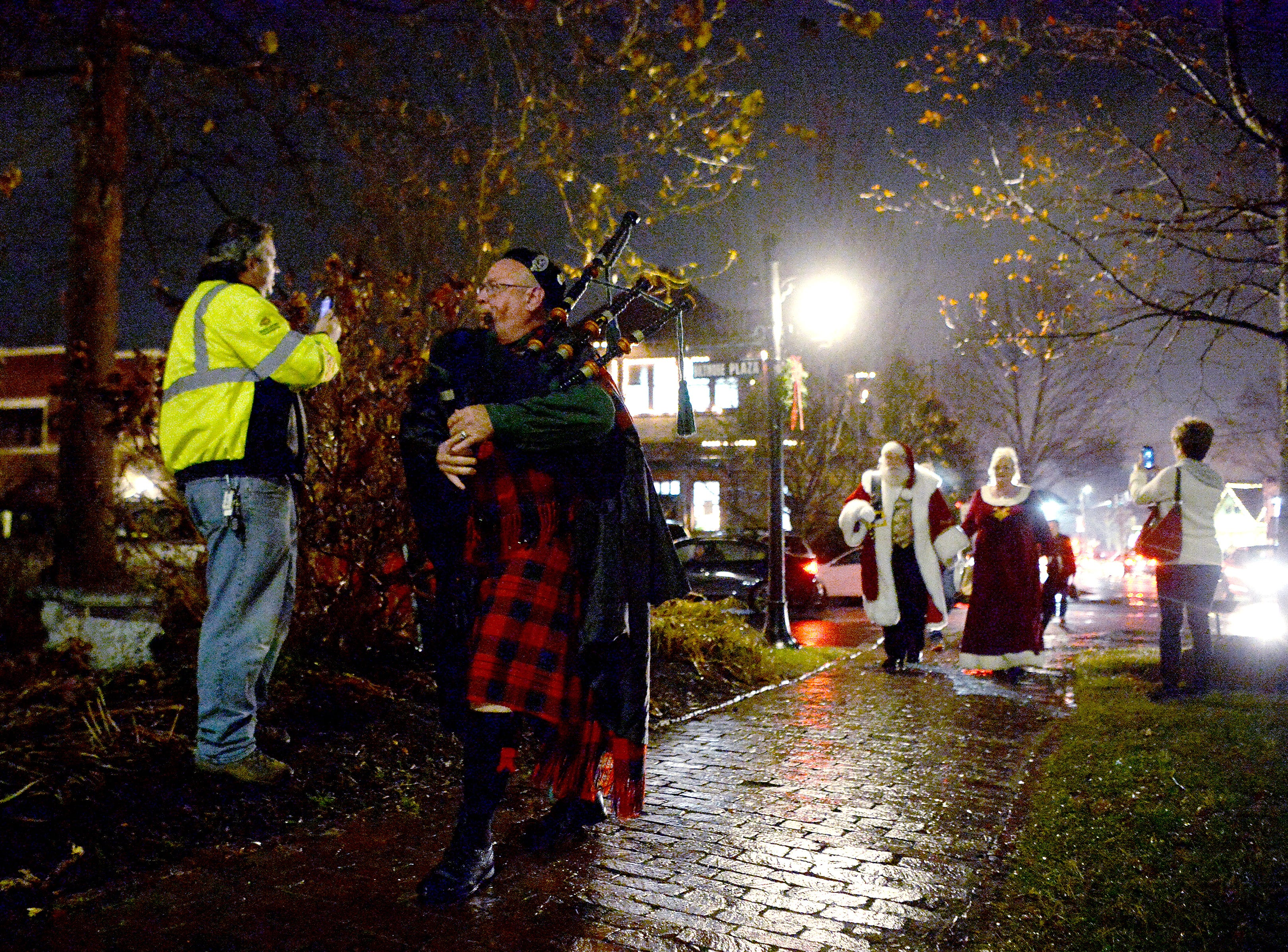 Caroling, performances, and a visit from Santa marked the 30th annual Biltmore Village Dickens Festival and tree lighting on Nov. 30, 2018.